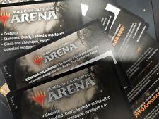 5x MTG Magic Arena Code Booster Innistrad Midnight hunt MTGA promopack Bustine