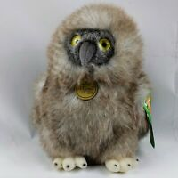 "Aurora World Miyoni Great Horned Baby Owl Plush 10"" PBS KIDS stuffed Animal"
