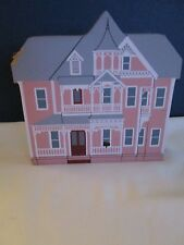"The Cats Meow Village Daughter's of Painted Lady Series ""Barber Cottage"" 1995"