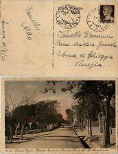 REGNO-10c(245) Imperiale su cartolina Taranto->Venezia 11.7.1934