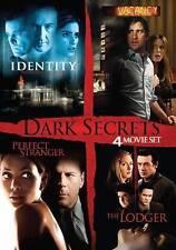 Identity, Vacancy, Perfect Stranger, The Lodger 4 Movie Dark Secrets Set DVD