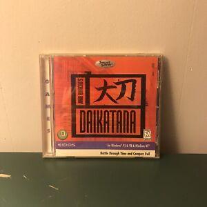 Daikatana For Windows 95 And 98 And Windows NT