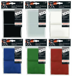 Ultra Pro Standard Sleeves Deck Protectors Pokemon MTG Trading Cards - 100 Pack