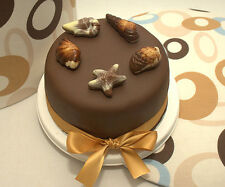 Personalised Chocolate Cake - a personalised cake iced with your special message