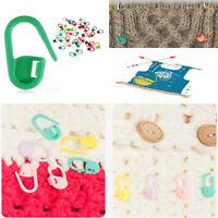 100Pcs New Knitting Crochet Craft Locking Stitch Needle Clip Markers Holder