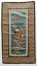 Antique Chinese embroidery - Vecchio ricamo cinese .