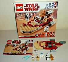 lego star wars 8092 lukes landspeeder complete used 2010
