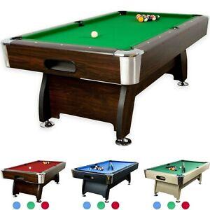 Pool Billardtisch Billiard Billard Billiardtisch 7ft Fuß (Maße 214x122x82 cm)