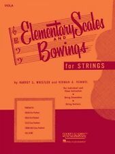 Elementary Scales and Bowings Cello First Position String Method New 004473270
