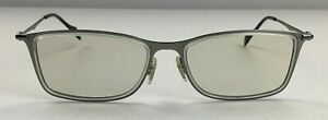 Vintage Ray Ban Titanium Frame Men's Reading Glasses Made In Italy