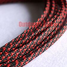 3mm New High Quality Braided PET Expandable Sleeving Cable Wire Sheath