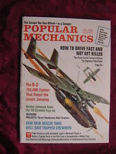 POPULAR MECHANICS January 1968 O-2 Fighter Fiat 124 Corvette Rambler American