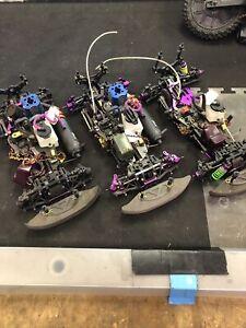 Hpi Nitro RS4 parts cars x3 tons of hop-ups Untested