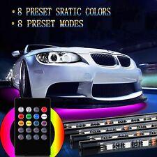 LED Ambientebeleuchtung RGB Auto Unterboden Lichtleisten SMD LED Neon Licht Set