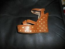 713ae2ec977 Moschino Wedge Leather Shoes for Women | eBay