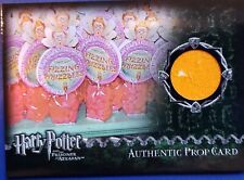 Harry Potter Trading Cards Authentic Prop  FIZZING WHIZZBEES Prisoner of Azkaban