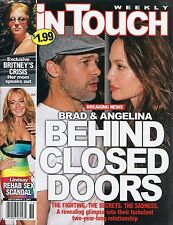 ANGELINA JOLIE In Touch Weekly Magazine September 3, 2007 9/3/07 BRAD PITT B-1-2