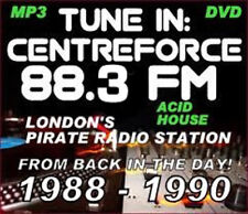 RAVE  ACID HOUSE 1 DISC MP3 DVD OLD SKOOL CENTREFORCE FM
