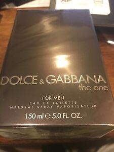 The One by Dolce & Gabbana 5.0 oz EDT Cologne for Men New In Box