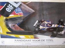 "Rothmans Williams Renault FW18 1996 #6 Jacques Villeneuve ""Titel Kandidaat"""