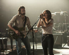 A Star Is Born Lady Gaga Bradley Cooper playing guitar and singing 8x10 Photo