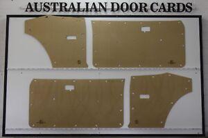 Datsun 120Y Coupe Door Cards. Blank Trim Panels. B-210, 140Y, Nissan Sunny
