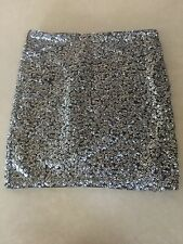 Divided By H&M Sequined Skirt Size US 4 Size 34 Eur
