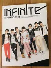 INFINITE - Inspirit (1st Single Album) Kpop US Seller Condition: Very Good