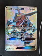 Rayquaza GX 177a/168 Celestial Storm Hidden Fates Shiny Vault Full Art NM