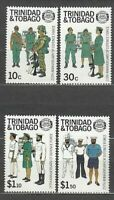Trinidad And Tobago - Mail Yvert 577/80 MNH Forces Of Defence