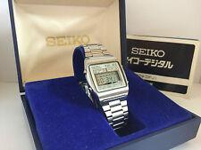 Seiko M929-4000 Quartz LCD LED   Very Rare Collectible