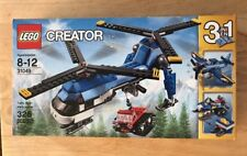 NIB Lego *Creator* TWIN SPIN HELICOPTER 326  Pieces Factory Sealed 3 in 1 #31049