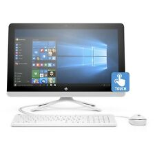 """New HP 22-b013w 21.5"""" FHD 1080p IPS Touch Intel J3710 4GB 1TB HDD All-In-One PC"""