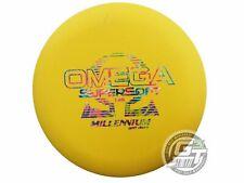 New Millennium SuperSoft Omega 175g Yellow Fireworks Foil Putter Golf Disc
