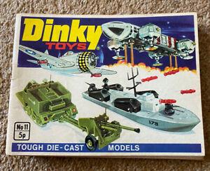 Dinky Toys Catalogue No 11- 1975 VGC