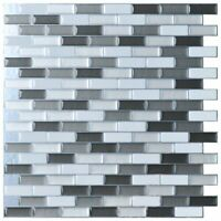 "Art3d 6Pcs Peel and Stick Backsplash Tile for Kitchen Sink,12""x12"""