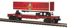 30-76297 Sheetz Flat Car w/ Trailer