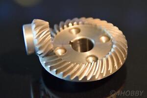 2-tlg. Tellerrad+Ritzel Zahnrad Getriebe 11+8mm Antrieb Zahnräder Stahl 90°