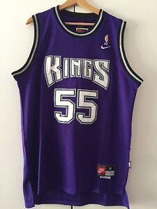 Canotta NBA Jersey Basketball Shirt Jason Williams Sacramento Kings New S/M/L/