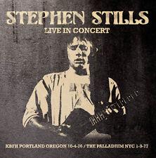 STEPHEN STILLS - Live In Concert. New CD + sealed