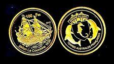 RARE ● BASSAS DA INDIA TAAF : 100 FRANCS 2012 ● FDC UNC