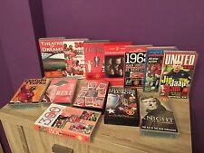 13 X Manchester United videos VHS. Coleccionables, fútbol, fútbol, historia.