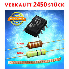 Reparaturset LNK304GN, Widerstand 47 Ohm, Drossel 470µH, Lötzlitze AEG Bauknecht