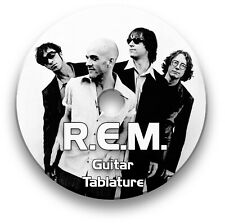 R.E.M. ROCK PIANO KEYBOARD GUITAR TAB TABLATURE SONG BOOK SOFTWARE CD
