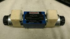 NEW Rexroth 4 WE 6 E62/EG24N9J4/ZV Directional Valve 24VDC 1.25A Solenoid