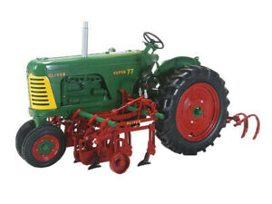 Model tractor Crew Agricultural SpecCast tractor Oliver Super 77 Diesel N