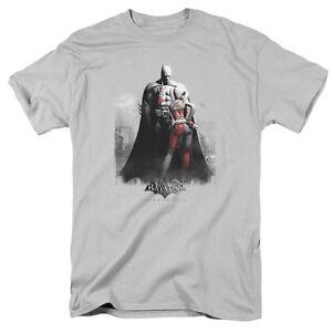 Batman Arkham City Harley Quinn & Batman T-Shirt S-3XL