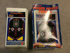 Vintage Tomy Made in Japan Power House Pinball Electronic Game W/Box