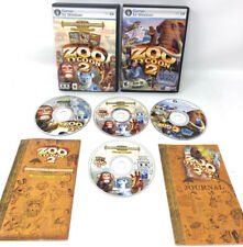 Zoo Tycoon 2: Zookeeper Collection (PC, 2006) Lot Endangered, African, Extinct