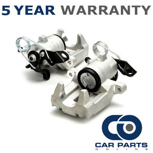 2x Rear Brake Calipers For VW Golf 1997-2009 New Beetle 1998-2010 CP127L+RVW